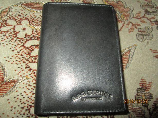 ece62cc816455 Nowy skórzany portfel męski firmowy BAGEET Okazja PREZENT Wys.GRATIS  Czajków - image 1