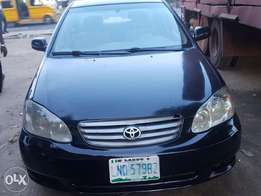 Clean register 04 Toyota corolla