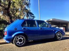 """VW Citi Golf 1.4i GTS... limited edition. 15"""" ATS Cup replica wh"""