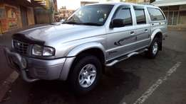 MAZDA DRIFTER. 4 X 2.Double Cab. + Extras. 2.5 Turbo Diesel R139,900.0