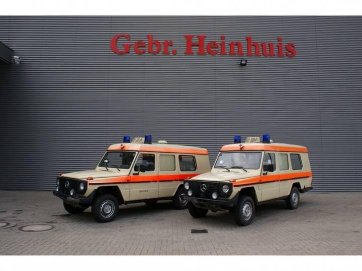 Mercedes-Benz GD250 460D 4x4 krankenwagen 2 pieces! - 1992