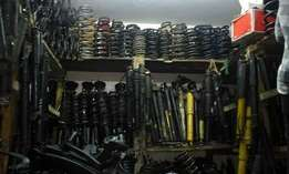 car springs and shock absorbers
