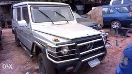 G wagon Restoration project car
