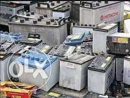 Inverter and solar scrap batteries is now cash