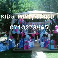 Theme parties,themed party,chairs bouncy house,jumping,castle for hire