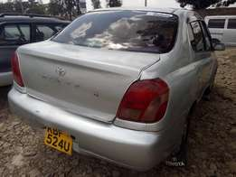 Toyota platz on sale.