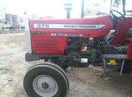 375 Massey Ferguson Tractor,75 horse power,Perkin Engine,Plough