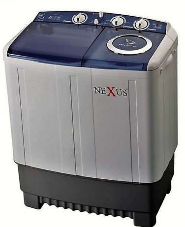 Nexus 7Kg Semi Automatic Twin Tub Washing Machine NX-WM-7SAS Lagos Mainland - image 1