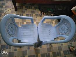 Pair of new Adix plastic chairs for Ksh 950
