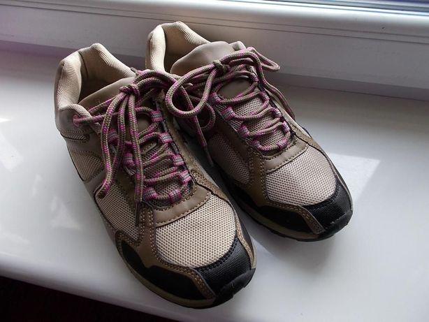 Buty sportowe damskie, NOWE. brązowe r. 38 uniwersalne