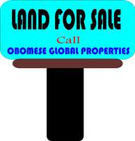 FOR SALE: 2 plot between Shell corperative & Queens park Estate,