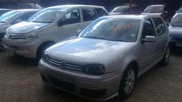 Vw Golf 4 Gti 2.0 manual R79999 neg