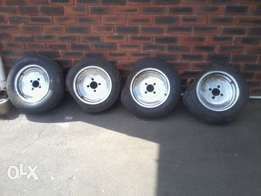 4 x 13 inch 108 Pcd old skool rims