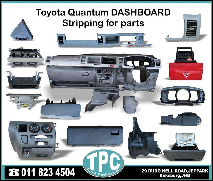 Toyota Quantum DASHBOARD Parts For Sale