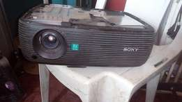 Black Sony Projector