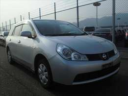 Nissan Wingroad Year 2010 Model Automatic Transmission 2WD Silver KCM