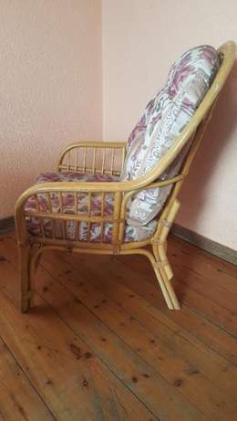 Pair of Cane Chairs With Cushions Kensington - image 3