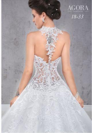 Suknia ślubna Agora 18 33 R 2018 Księżniczka Koszalin Olxpl