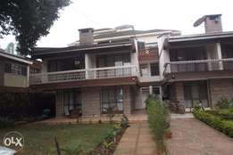 4 bedroom maisonette for rent in Kilimani