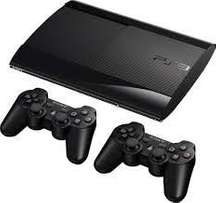 Ps3 with 2pads fifa 16 and gran turismo
