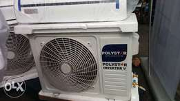 2HP polystar Inverter Air Condition (Power ur AC with 1.5kva Gen)