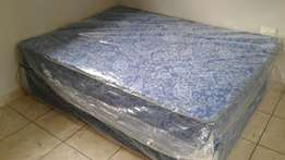 Double Bed base and mattress [ New ]