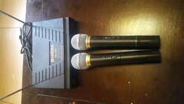 Yamaha wireless microphone receiver