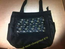 Baby nappy bag+changemat