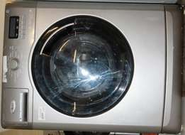Whirlpool Front Loader Washing Machine Silver