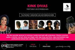 Hair services and makeovers
