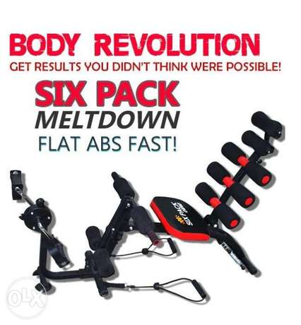 Gym AB Six Pack Care Total Body Gym Station Exercise Bench