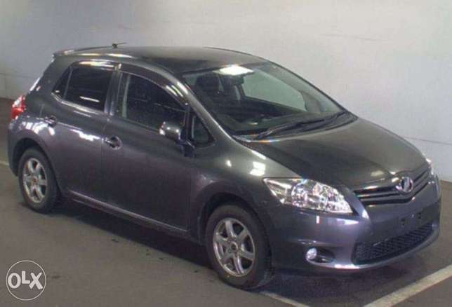 Toyota Auris Color grey KCP number Mombasa Island - image 2