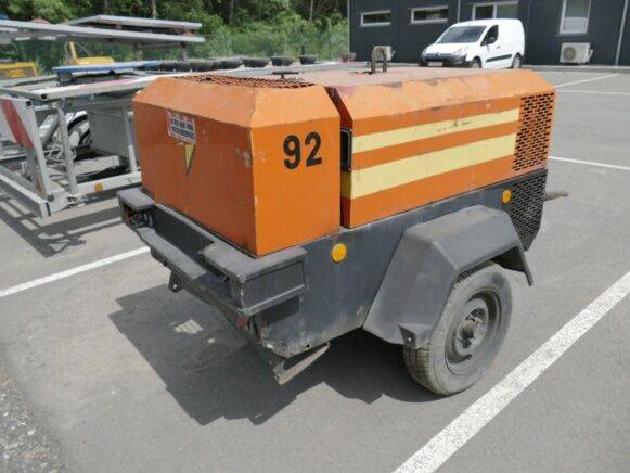 Ingersoll Rand 731 compressor for sale by auction - 2001