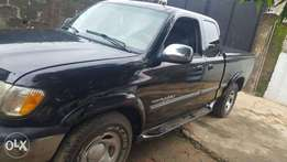 A Toyota Tundra pick-up for sale at Okota, Lagos