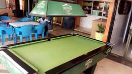 Slightly Used Pool table for Sale