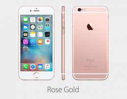 Brand new sealed iphone 6s 16gb rose gold