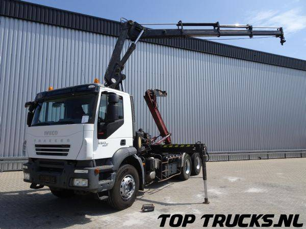 Iveco Trakker 450 6x4 - Hiab 14 TM Kraan, Crane, Kran - 19 T Ha... - 2007