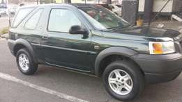 Landrover freeland in good driving conditio , whatdapp or cal for info
