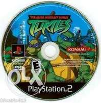 Ps2 Tmn turtles
