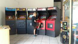 5 arcade games coin operated