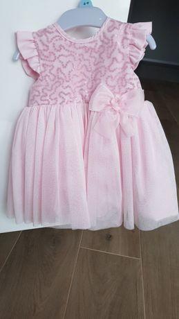 b453ba307c Śliczna sukienka r. 74 dla małej księżniczki Kalisz - image 1