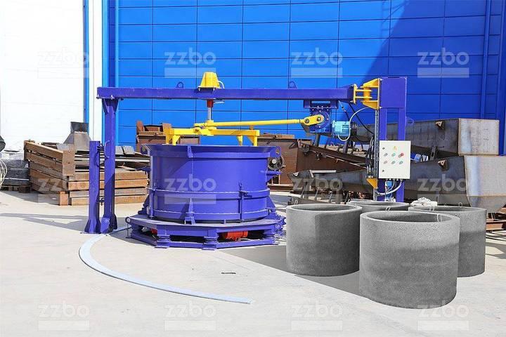 ZZBO Ks-15 Well Ring Making Machine / Пресс Для Колец - 2019