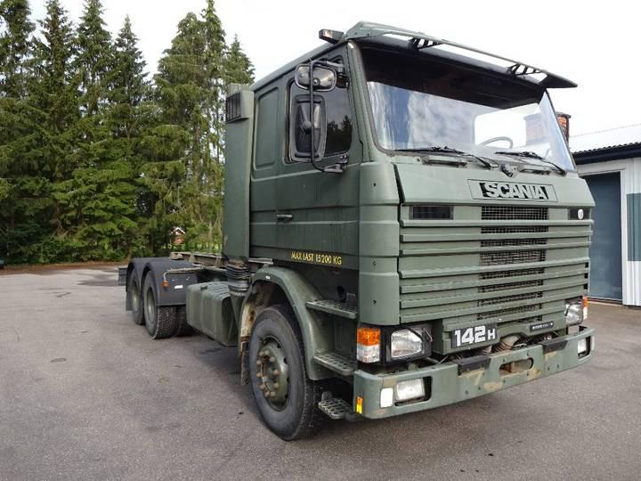 Scania Veteran R142h 6x2 - 1986