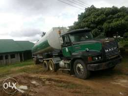 MACK Tanker for Petroleum Products
