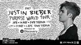 Justin Biber golden circle tickets - 2 available - JHB