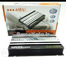 ADS 1200w, 4/3/2 channel amplifier, Free delivery within Nairobi cbd.