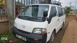 Cleanest Mazda Bongo KBY for 425k on quick sale