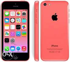 clearance sale of iphone 5c 8gb color pink & white c 8mp 1gb ram- 10k