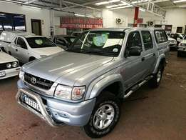 2005 Toyota Hilux 3.0 KZ-TE Legend 35, 203000Km's with Aircon