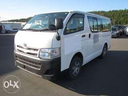 TOYOTA / HIACE CHASSIS # KDH206-915 year 2010